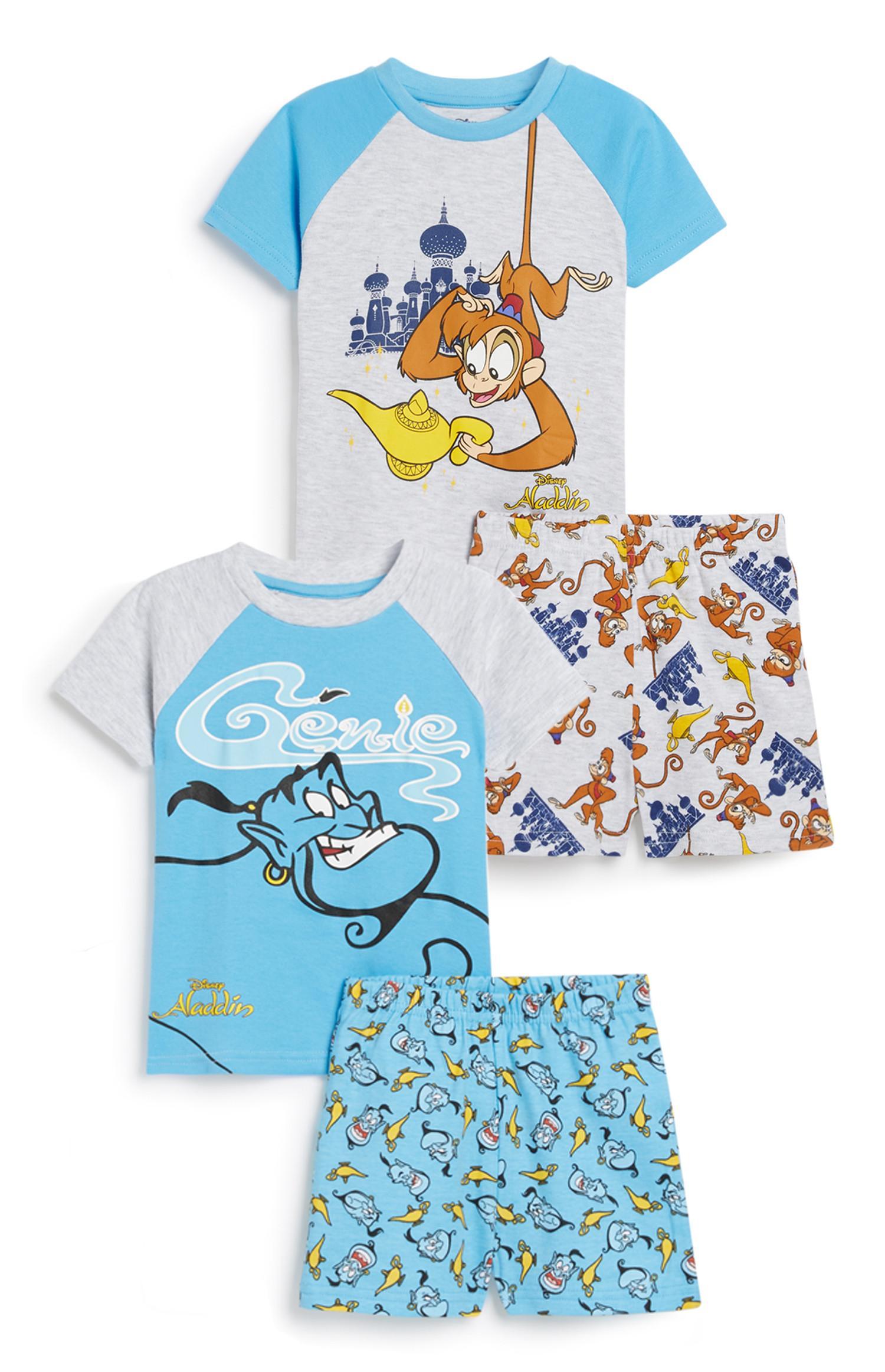 Aladdin Baby Boy Pyjama 2Pk