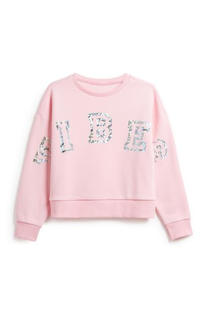 Older Girl Active Sweatshirt