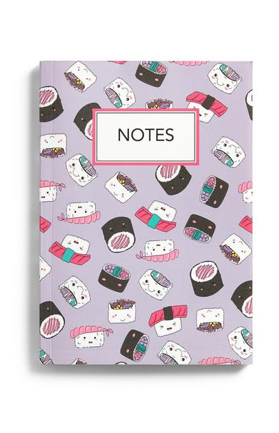 A5 Sushi Notebook