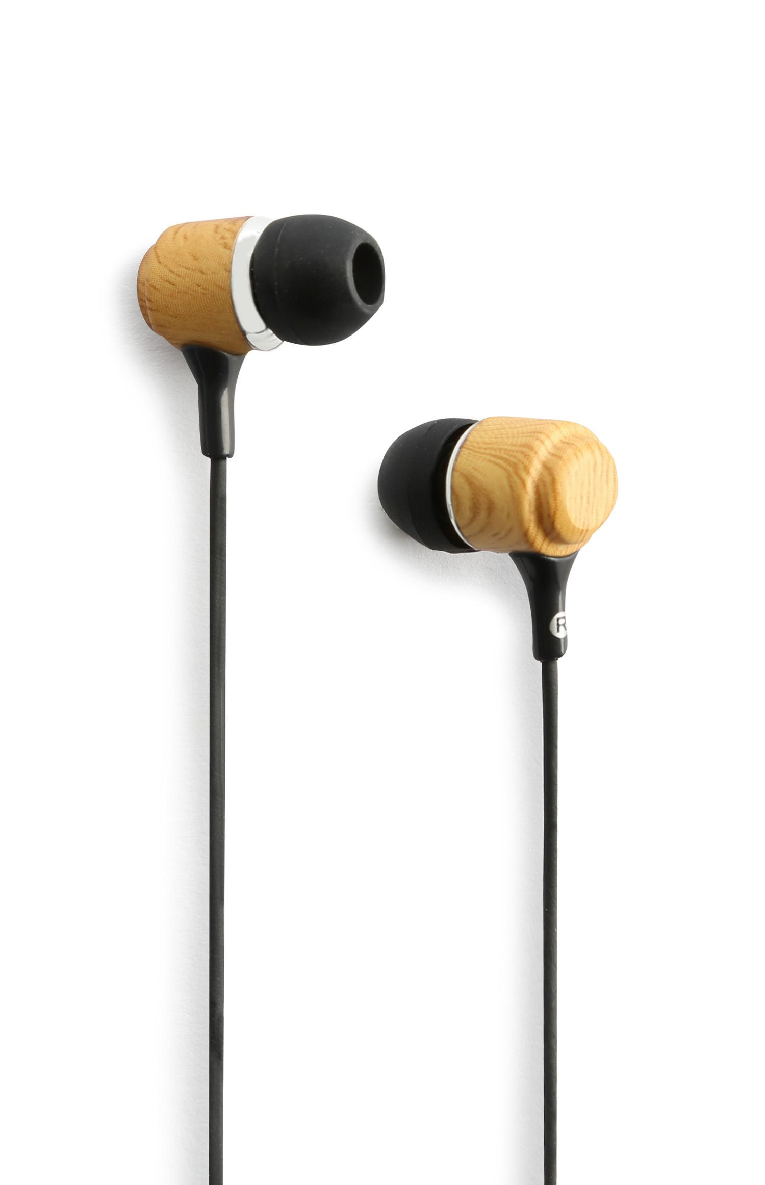 Wood Light Ear Phones