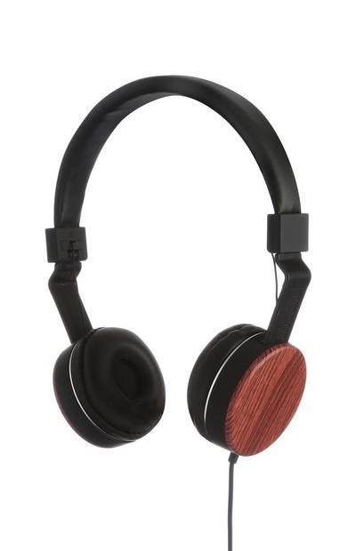 Wooden Headphones