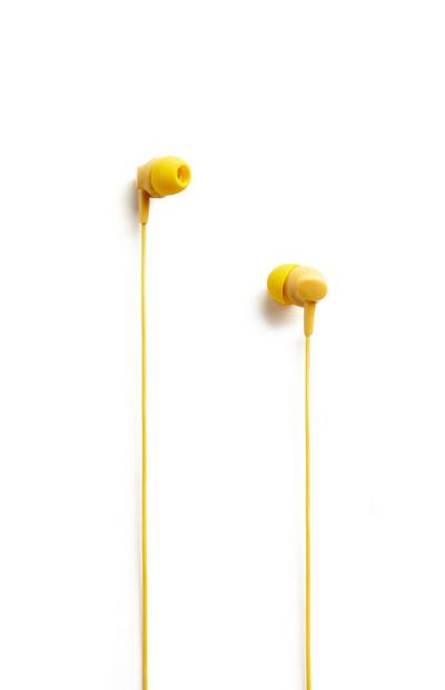 Yellow Earphones