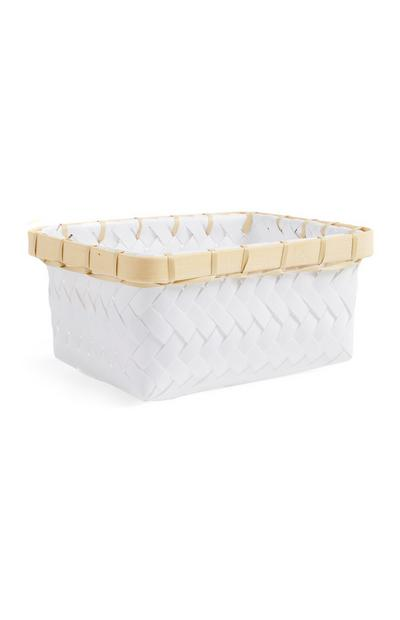 White Mini Basket