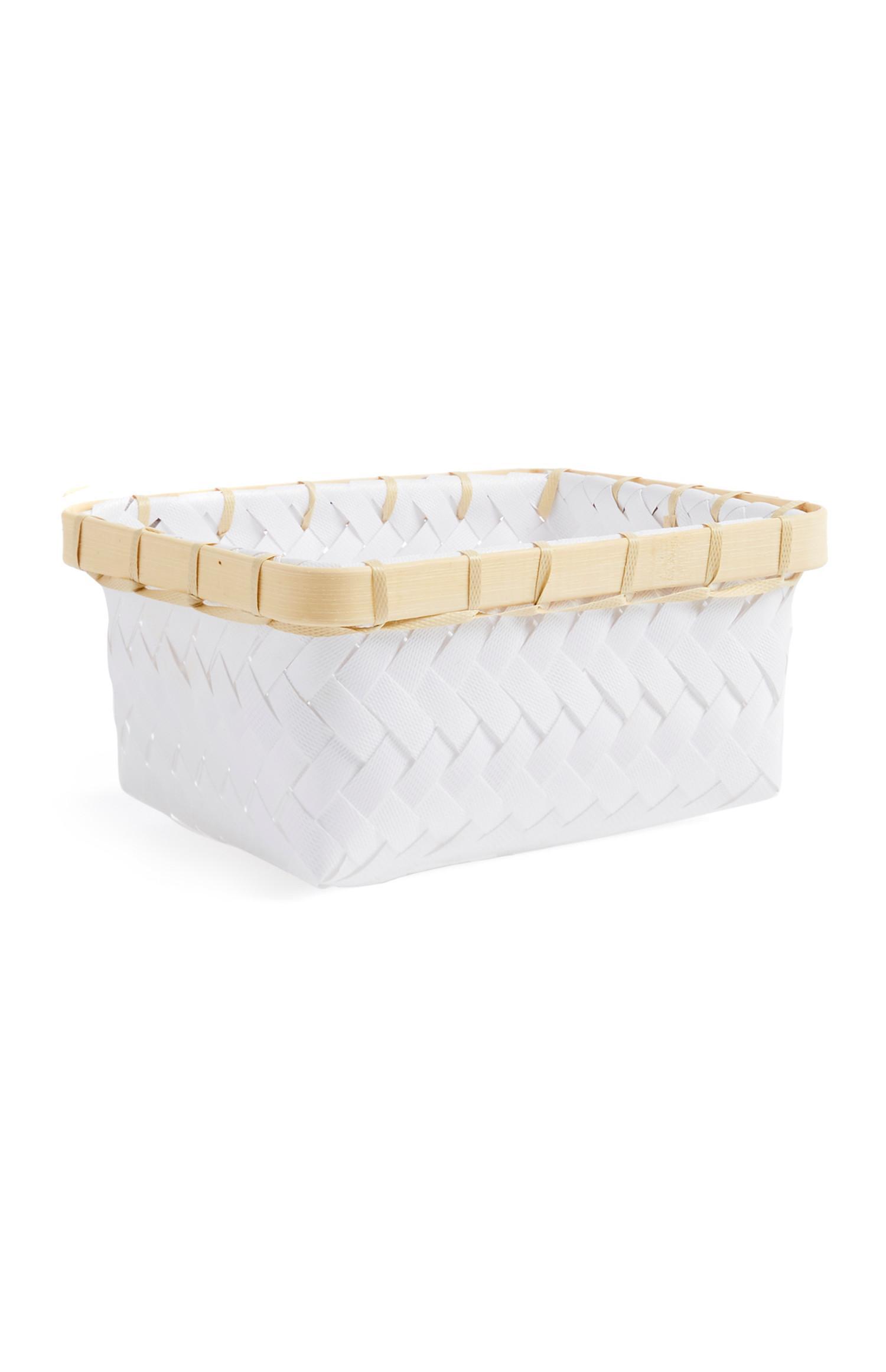 White Mini Basket