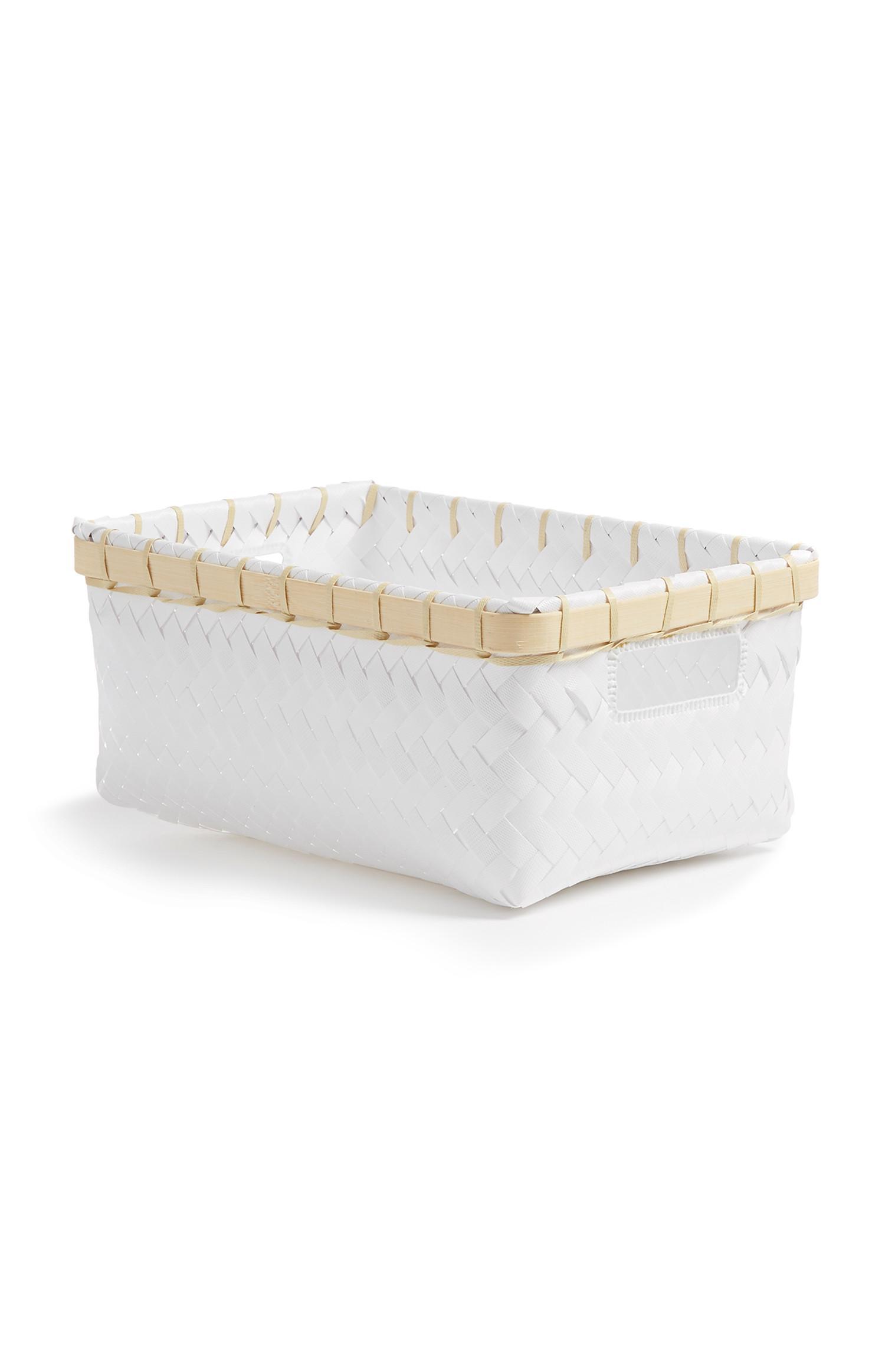 White Single Basket