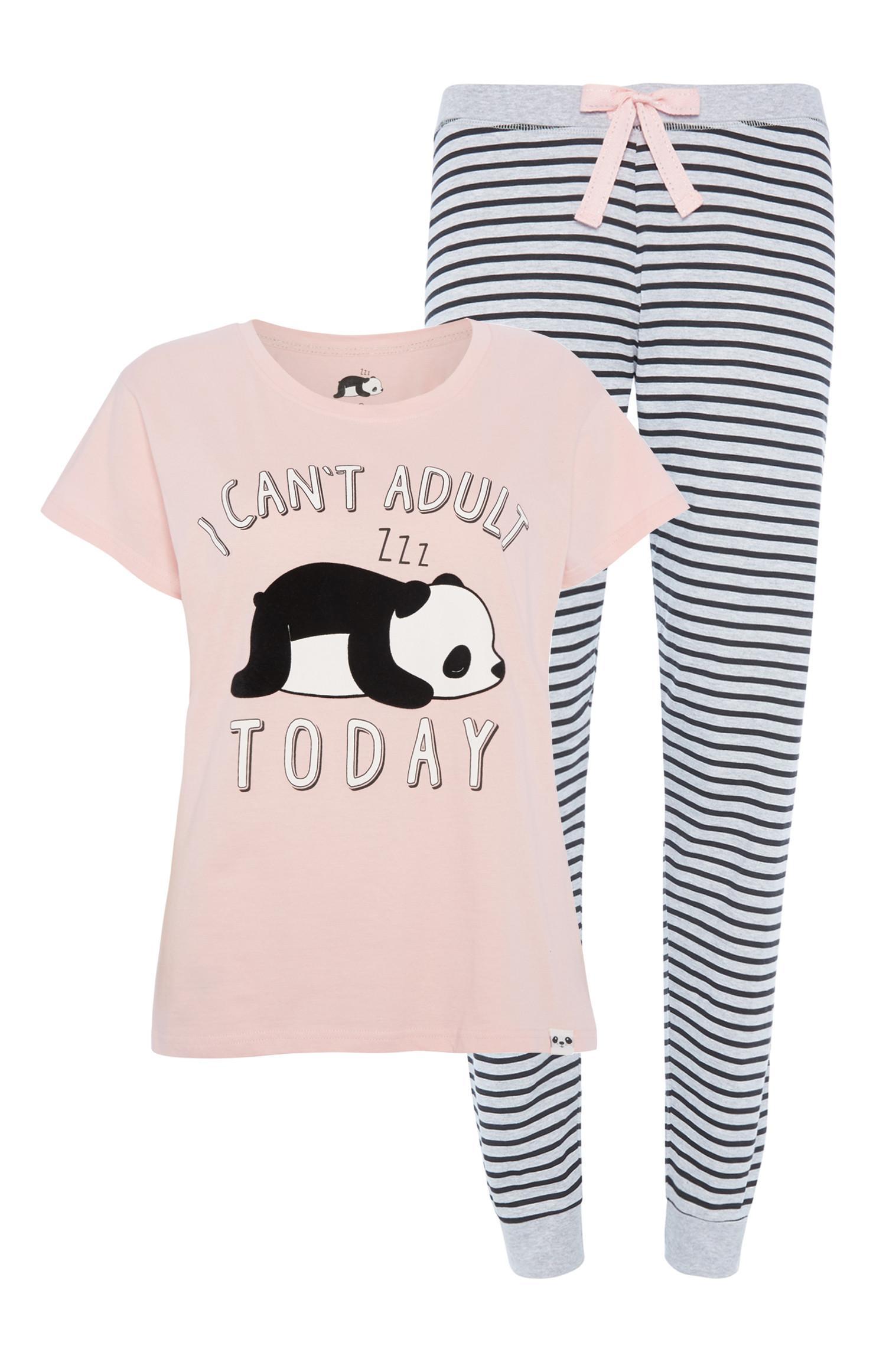 """Panda"" Pyjamaset"