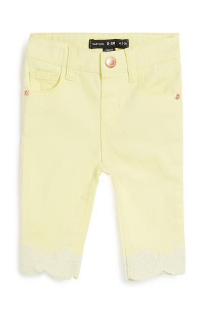 Baby Girl Yellow Trouser