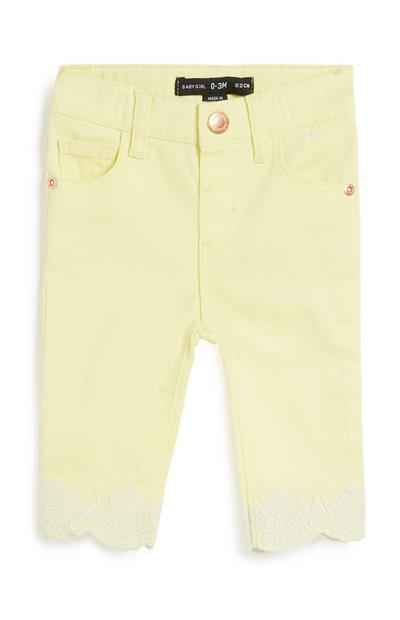 Baby Girl Yellow Trouser
