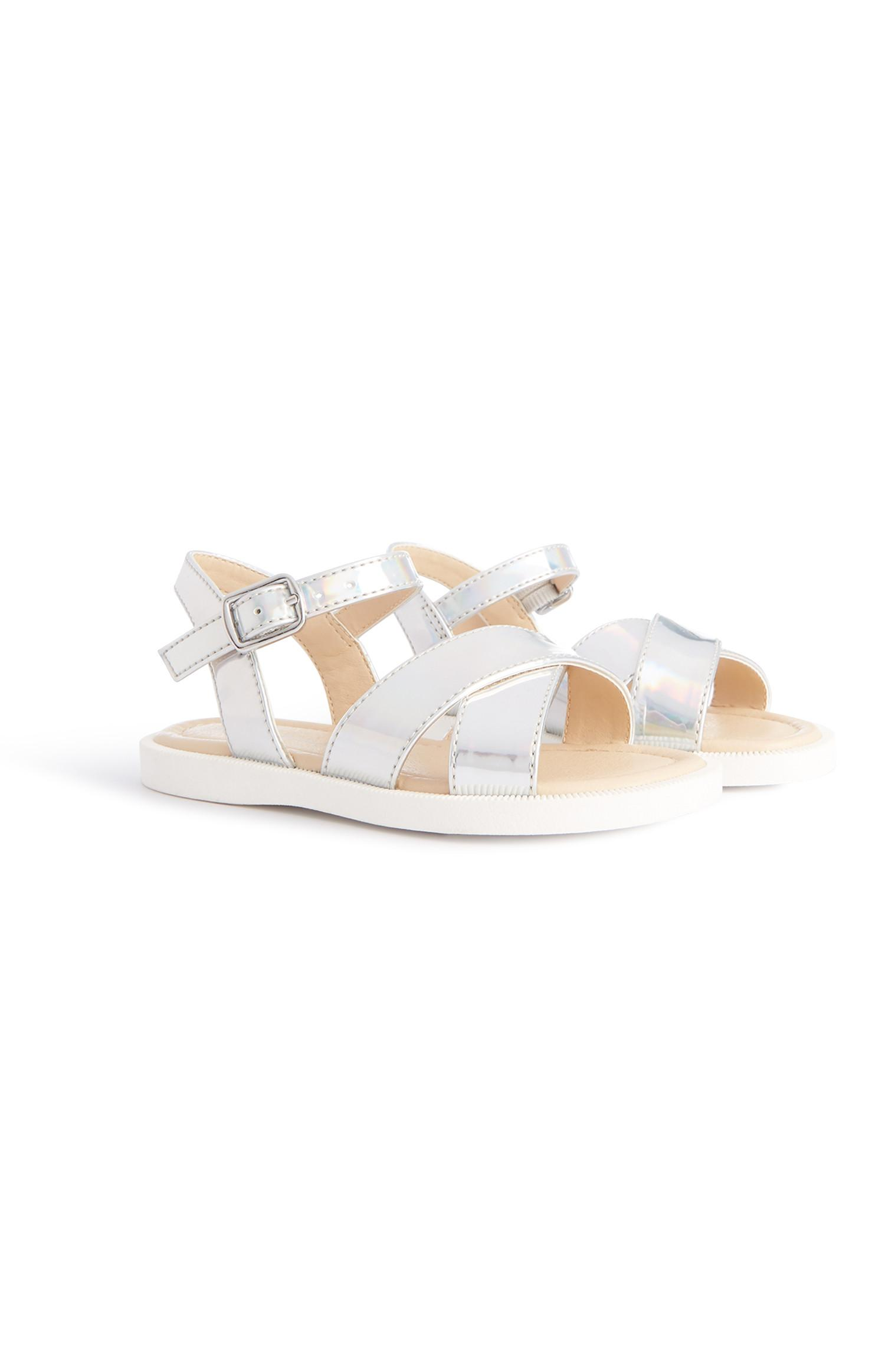Younger Girl Silver Sandals