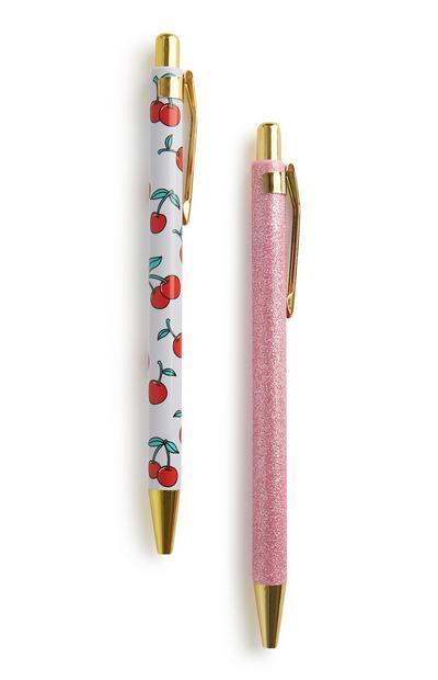 Cherry Pens 2Pk