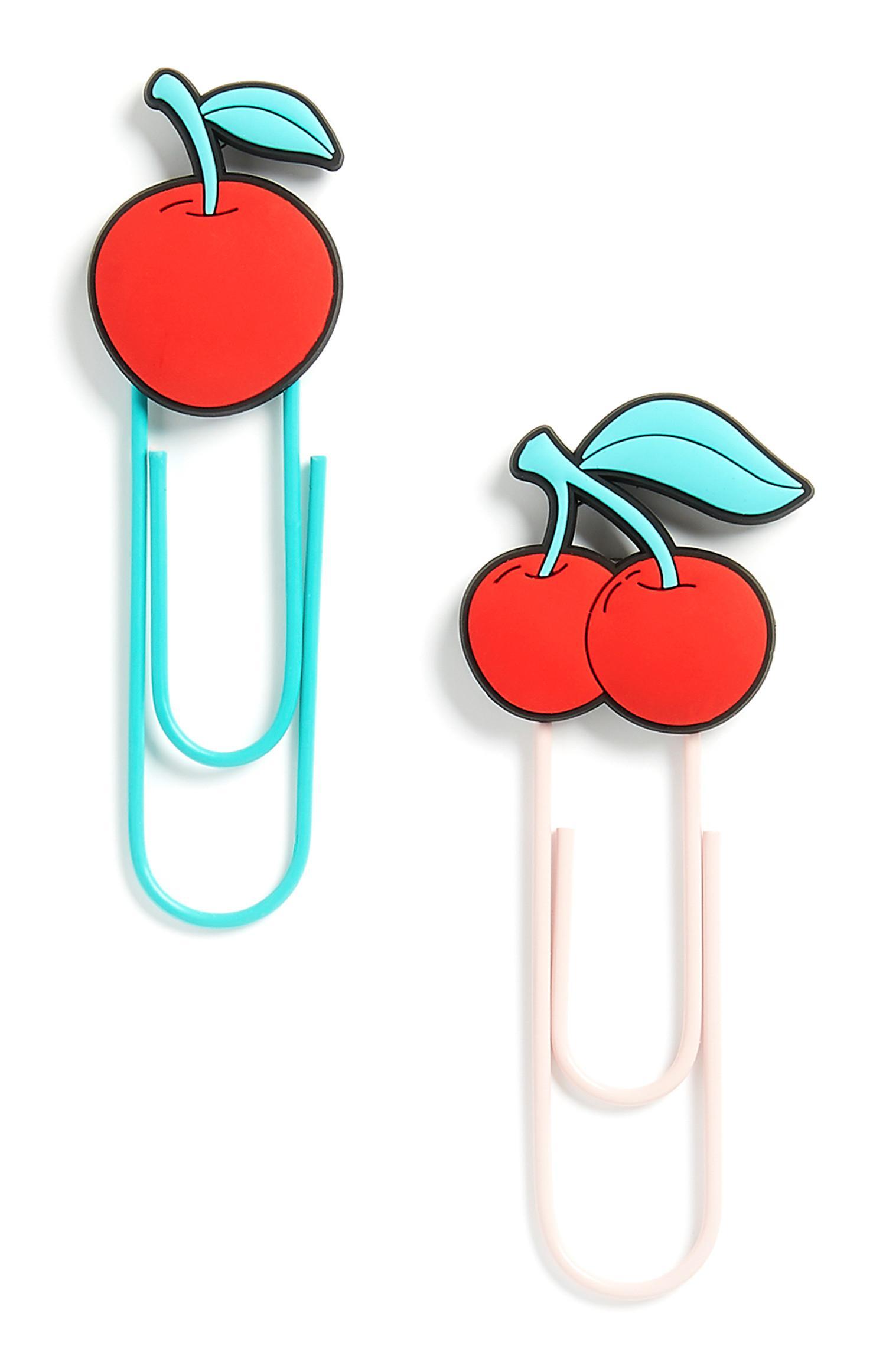 Cherry Clip 2Pk