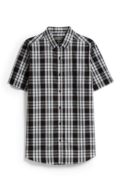 Black Check Shirt