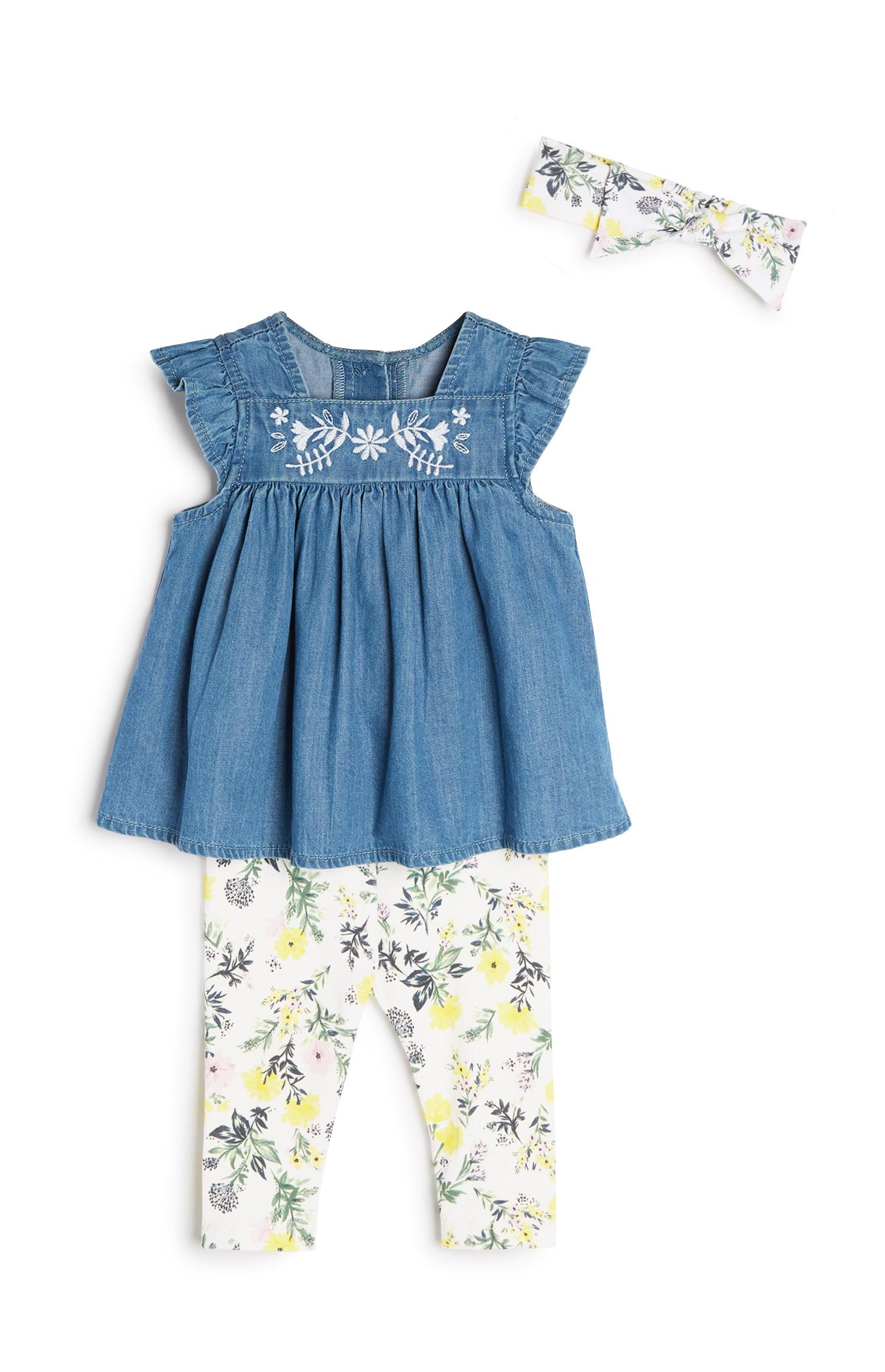 Babygirl 3Pc Outfit