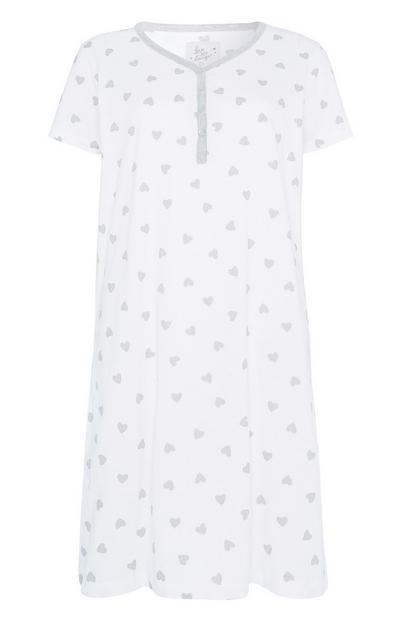 Heart Print Night Shirt
