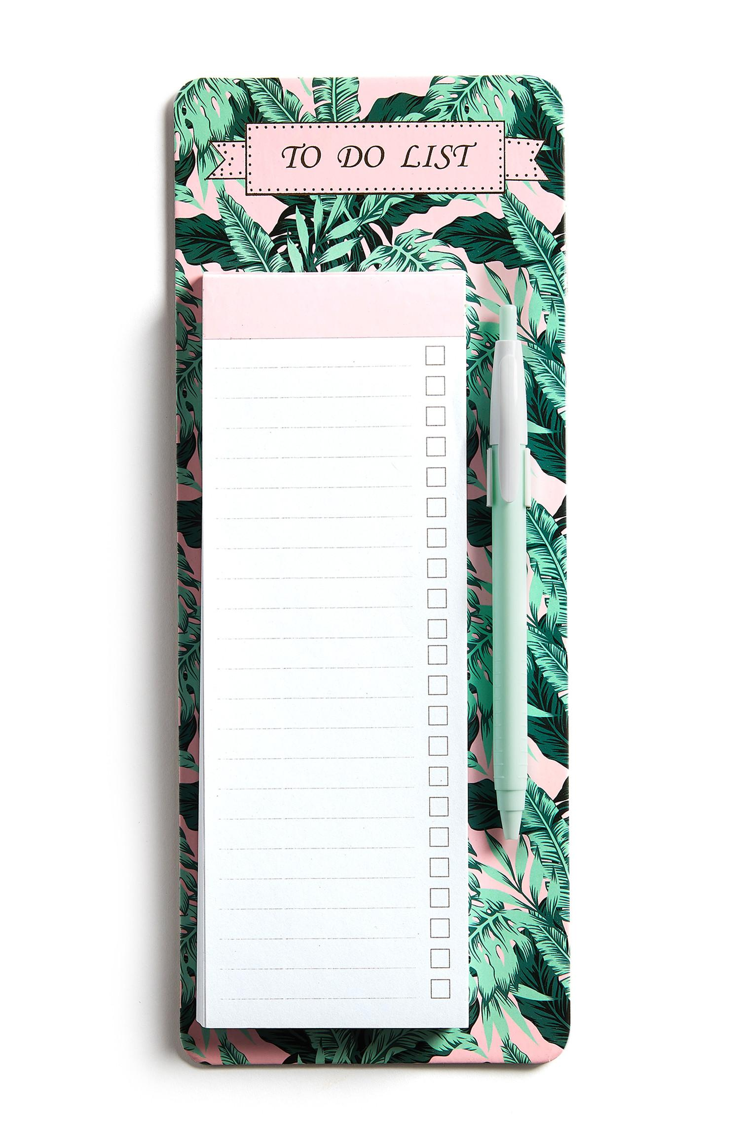 Botanical To Do List