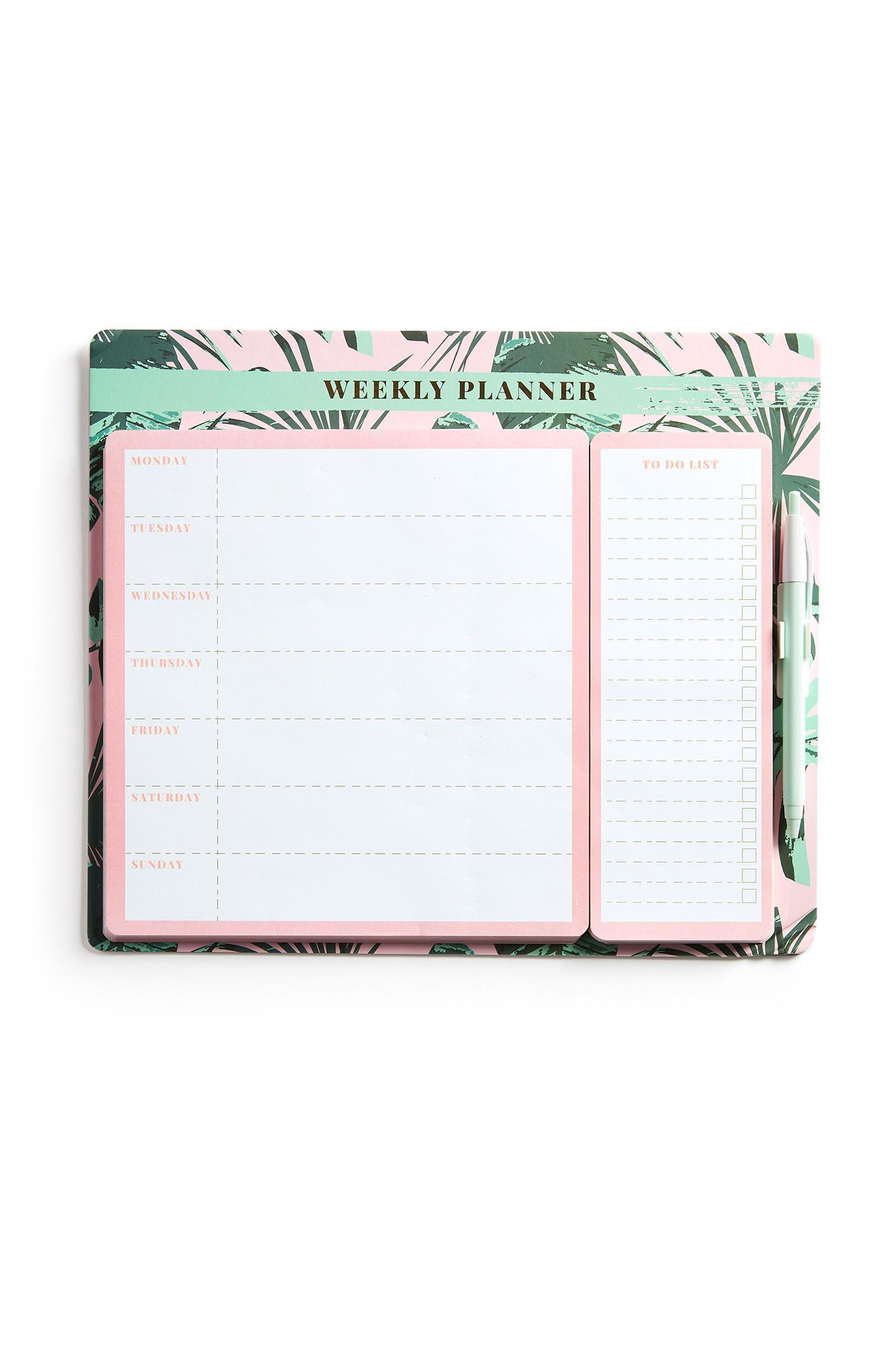 Botanical Weekly Planner