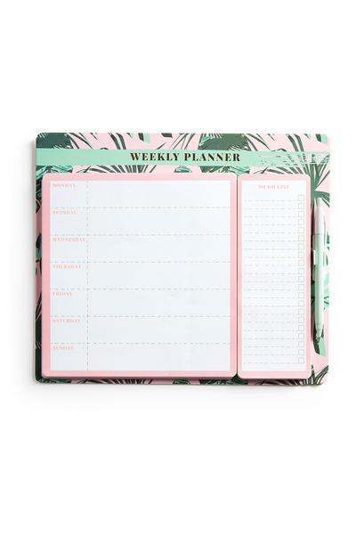 Botanical Weekly Planner