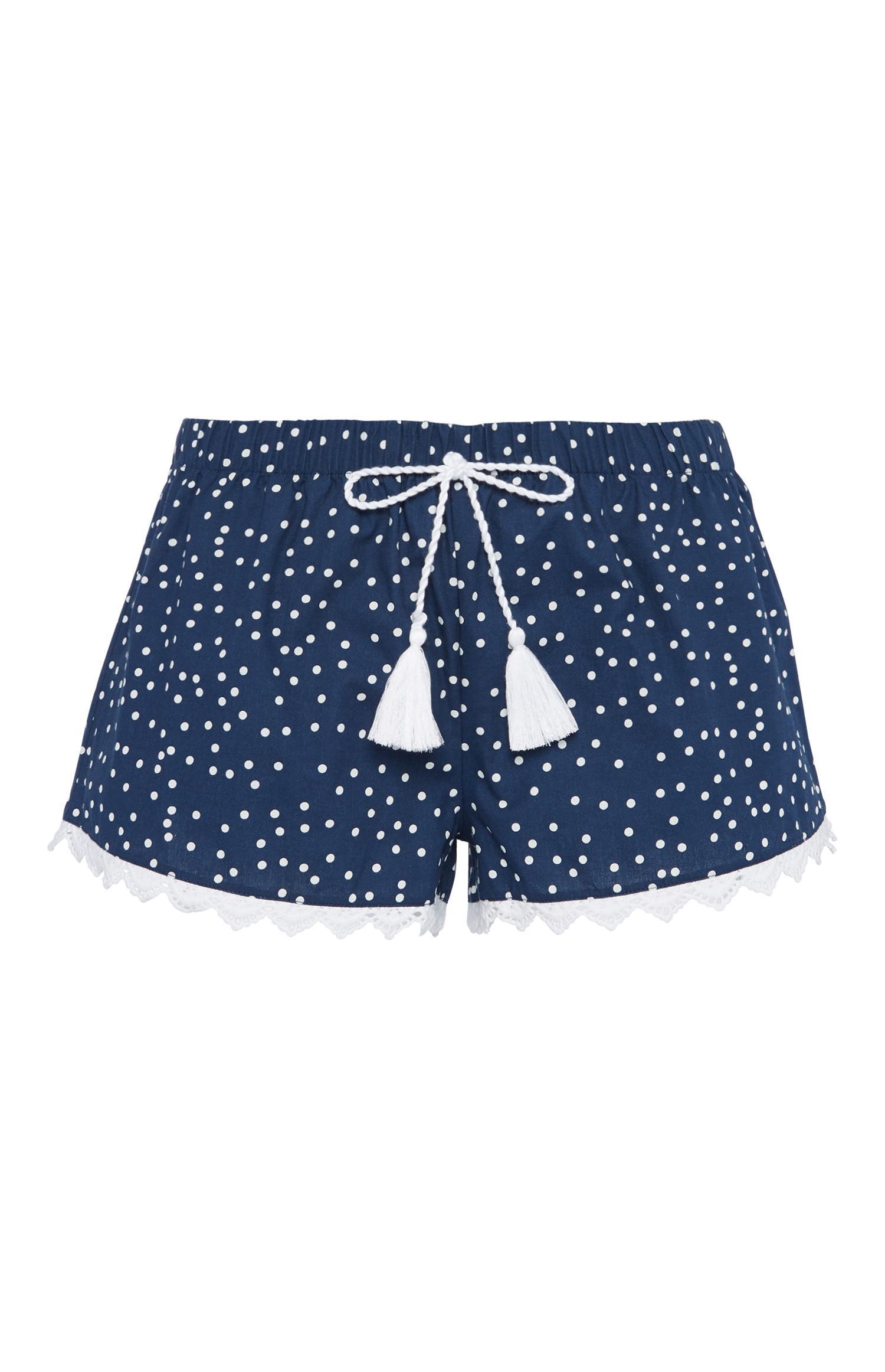 Blue Polka Dot Pyjama Short