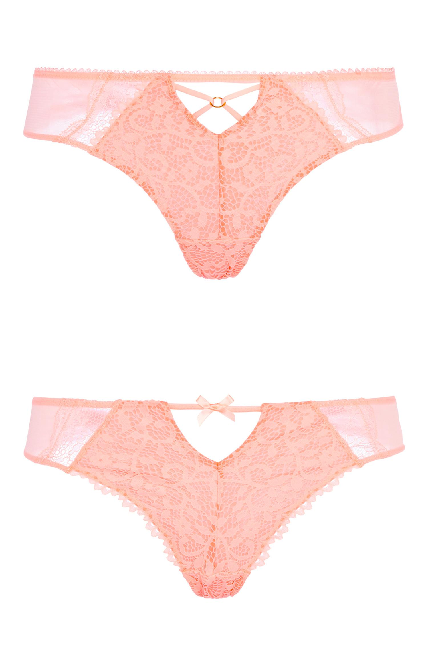 Coral Lace Brief 2Pk