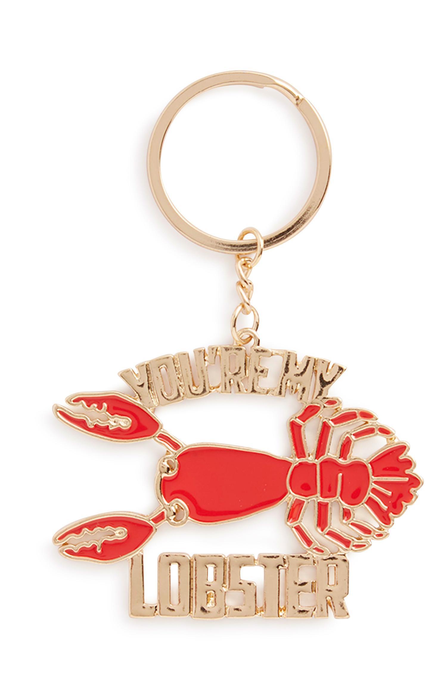Friends Lobster Keyring