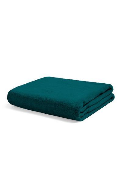 Teal Bath Towel