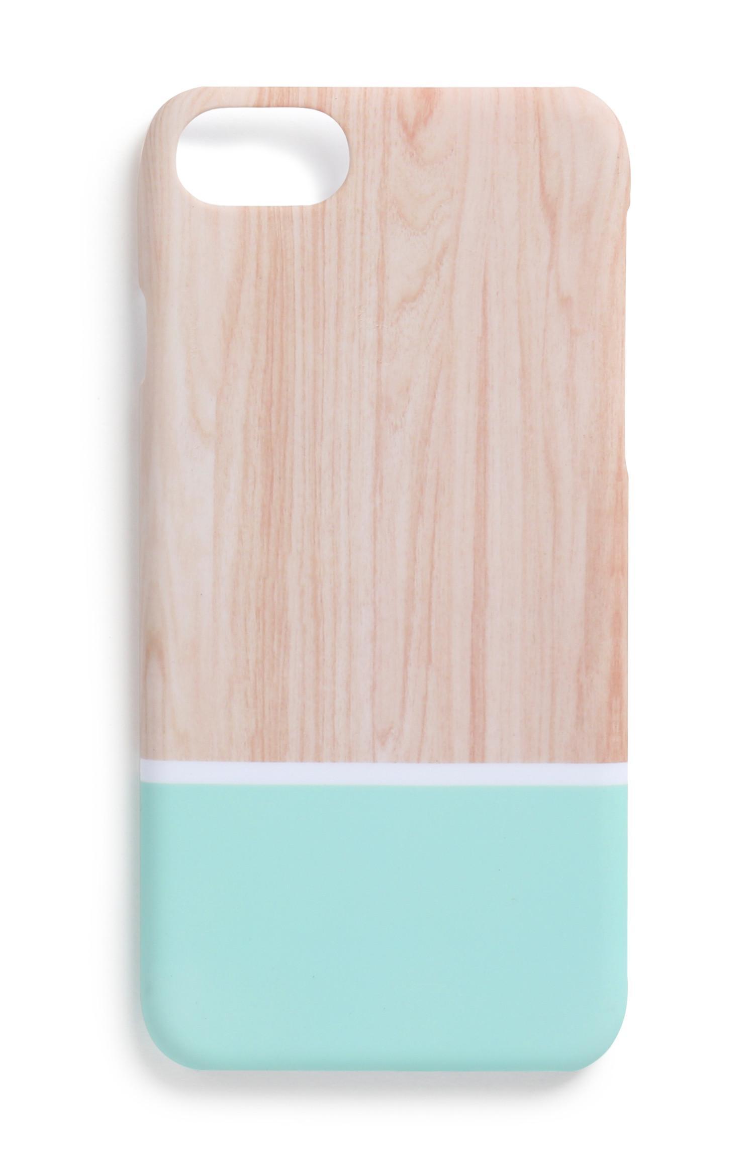 Handyhülle aus Holz