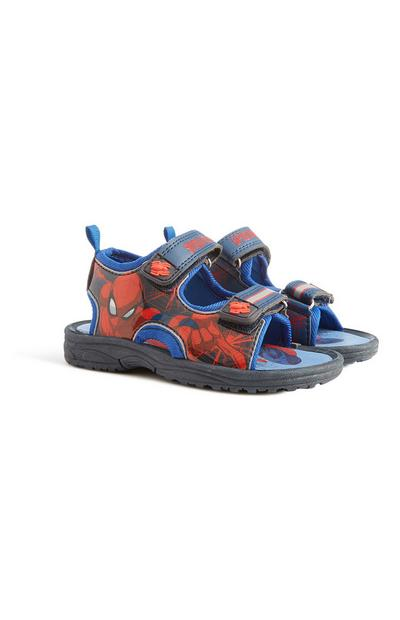 Younger Boy Spiderman Sandal