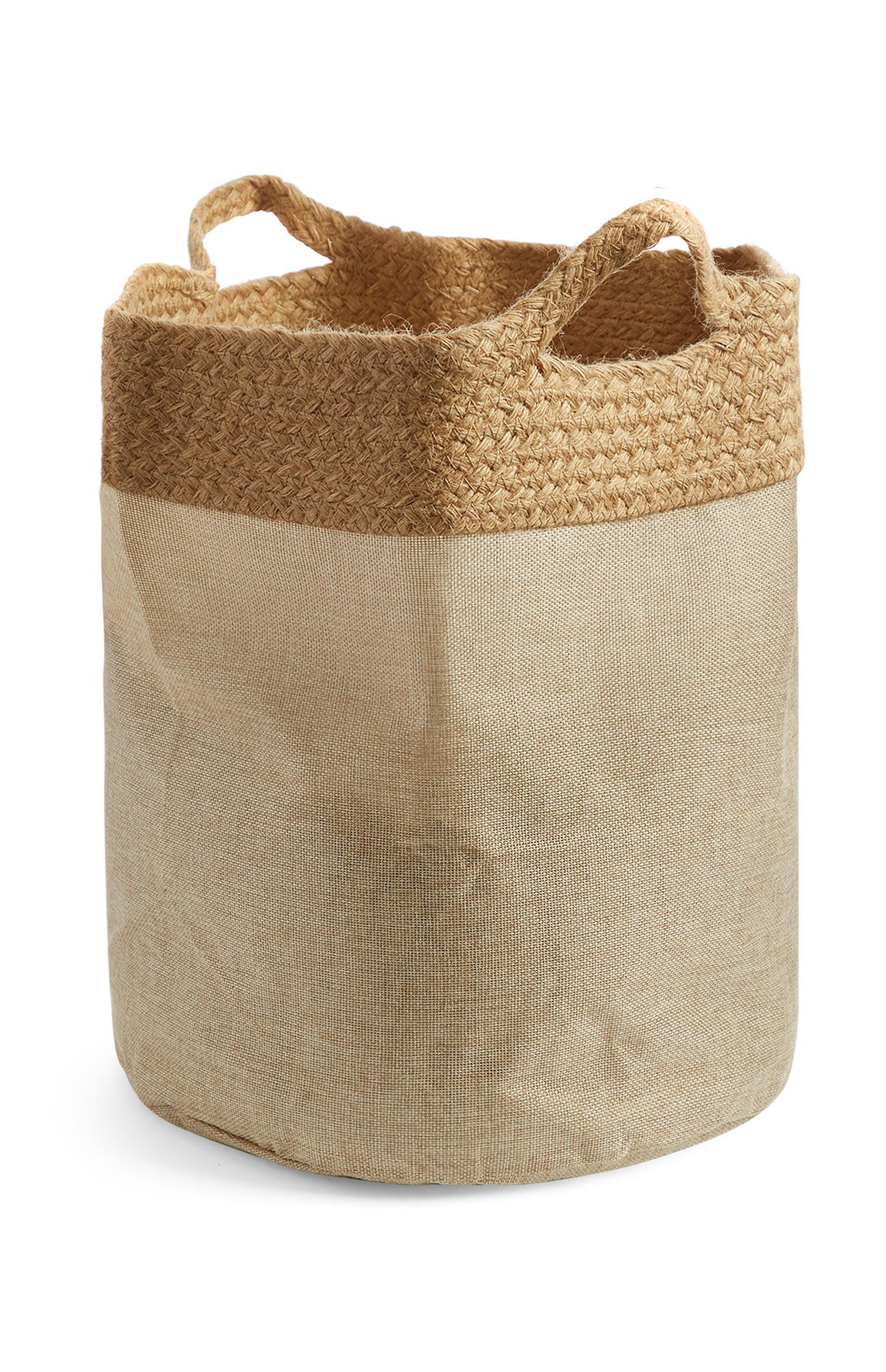 Natural Jute Laundry Bag