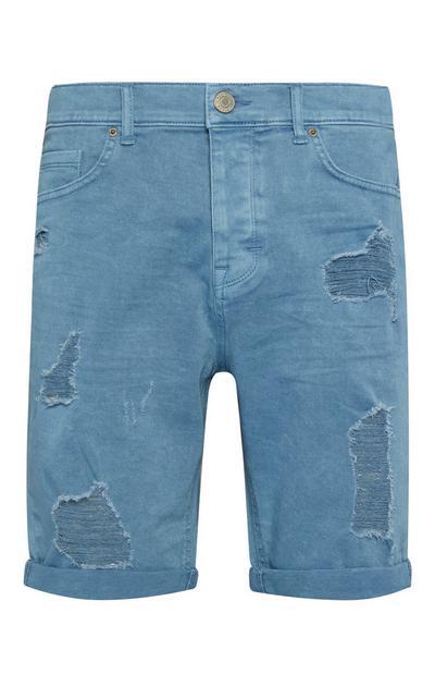 Slim Ripped Shorts