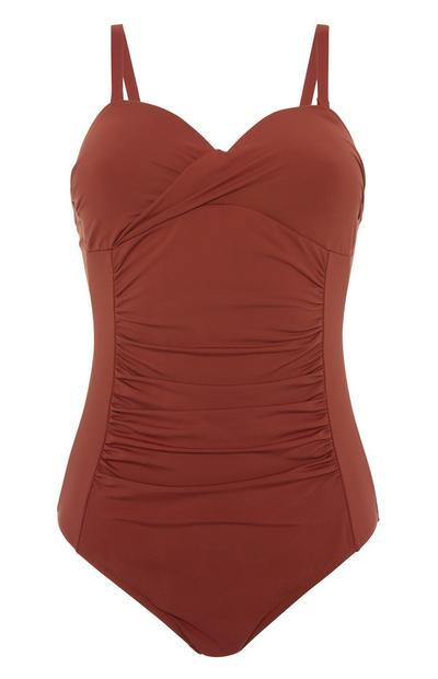 Terracotta Control Swimsuit