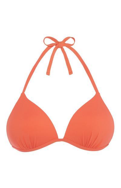 Coral Bikini Top