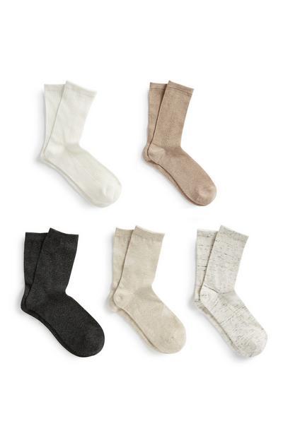 Socks 5Pk