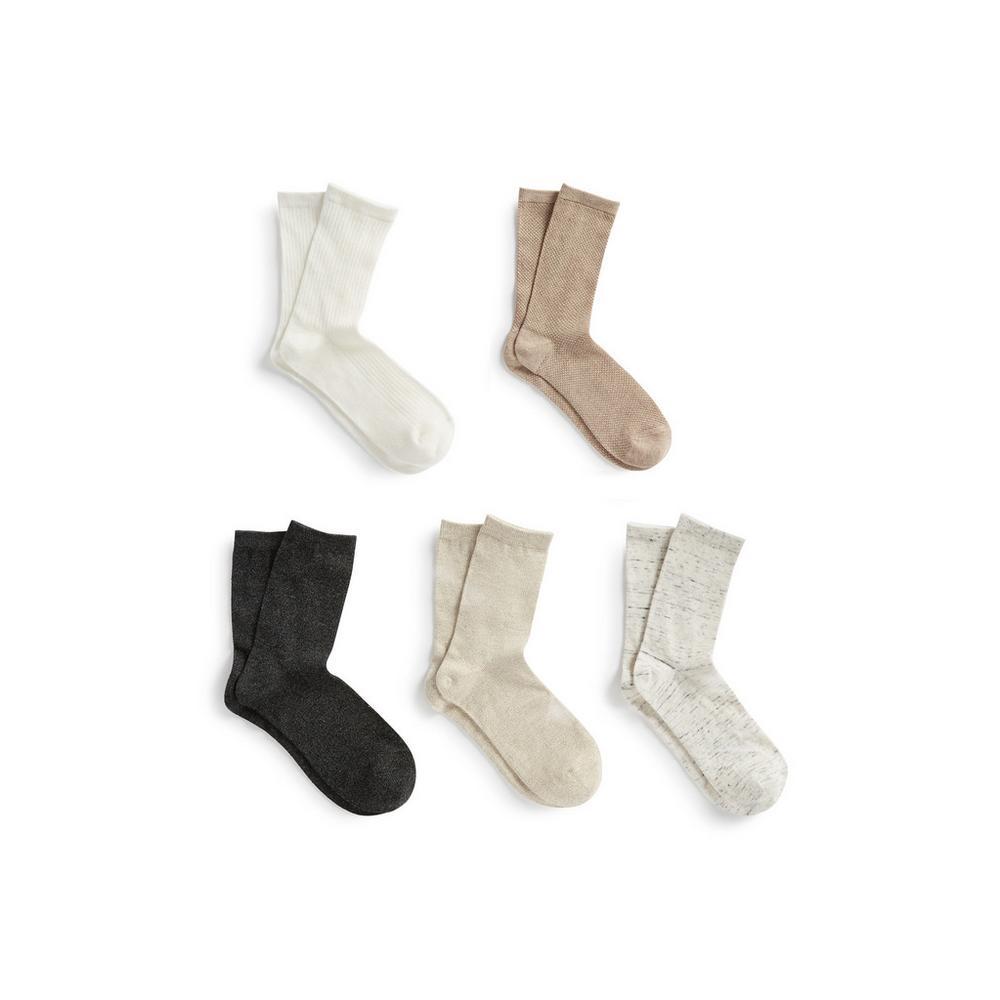 acheter populaire 8d245 e8dfd Lot de 5 paires de chaussettes | Chaussettes et collants ...