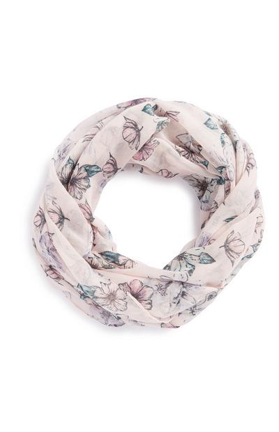Pink Butterfly Snood