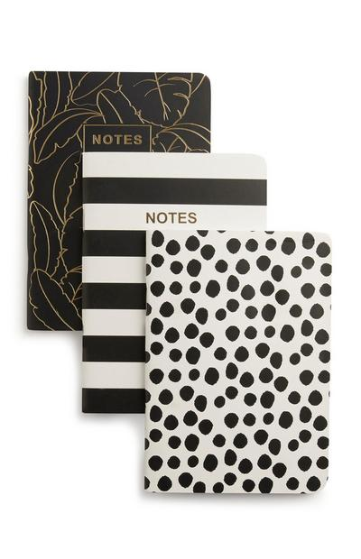3PK A6 Notebooks