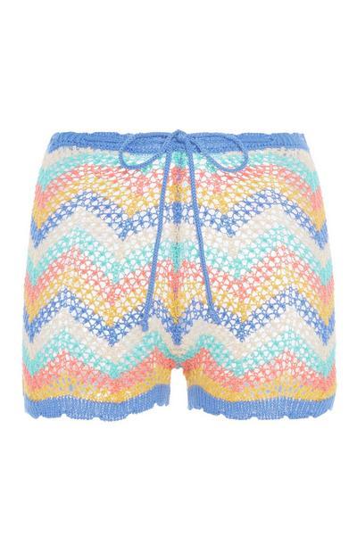 Knit Zig-Zag Short