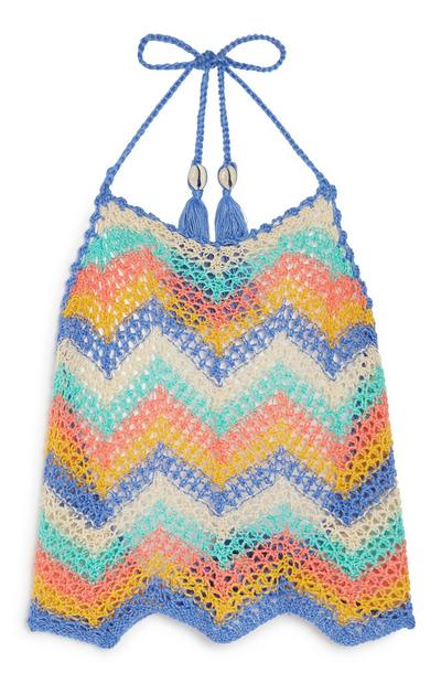 Zig Zag Knitted Top
