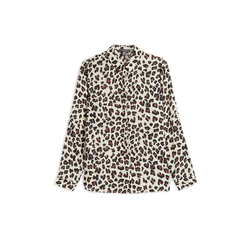 f5d178a2a6875e Leopard Print Shirt | Shirts | Tops | Womens | Categories | Primark USA