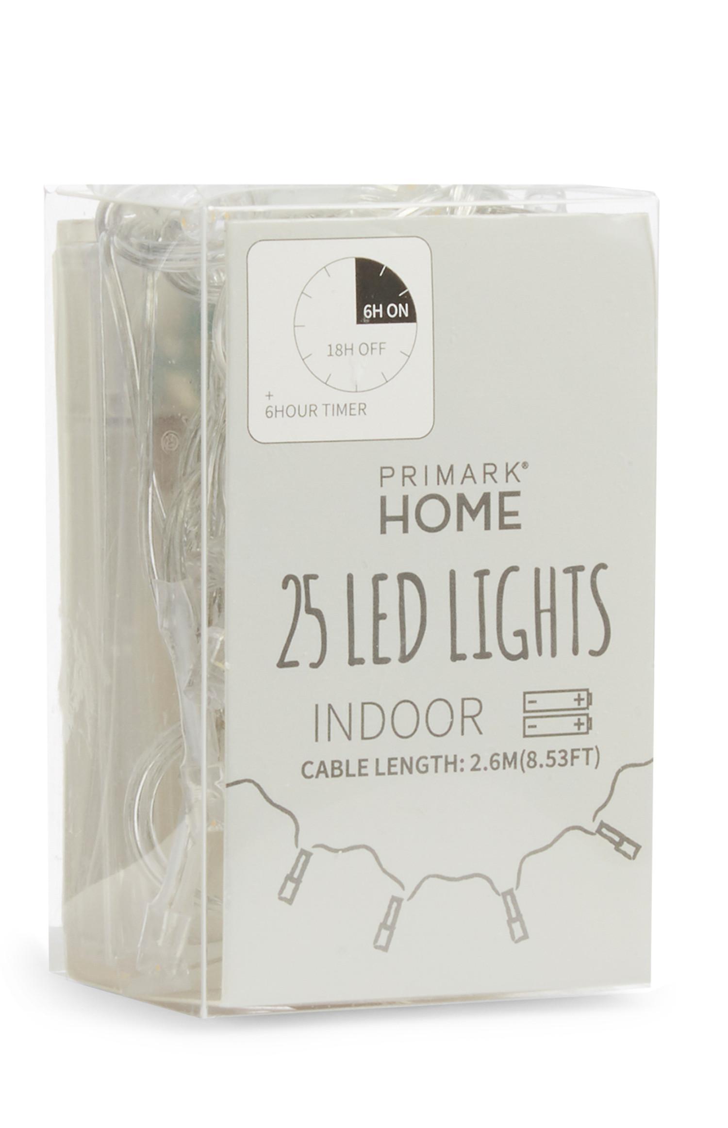 25 LED-Lichter