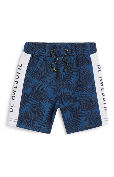 Baby Boy Navy Panel Shorts