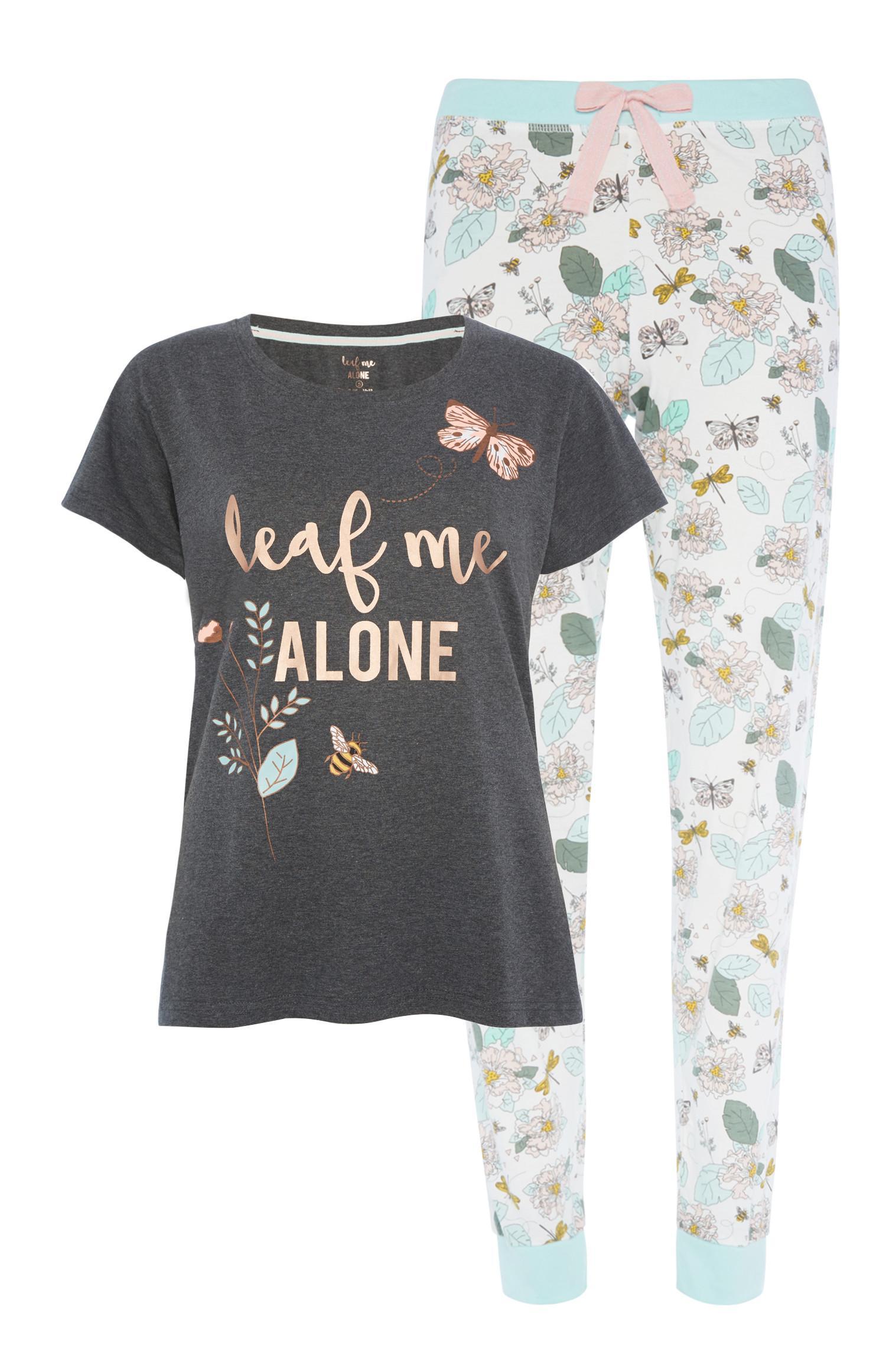 Leaf Me Alone Pyjama Set