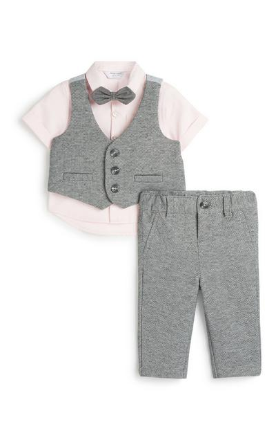 Baby Boy Formal 4Pc Outfit Set