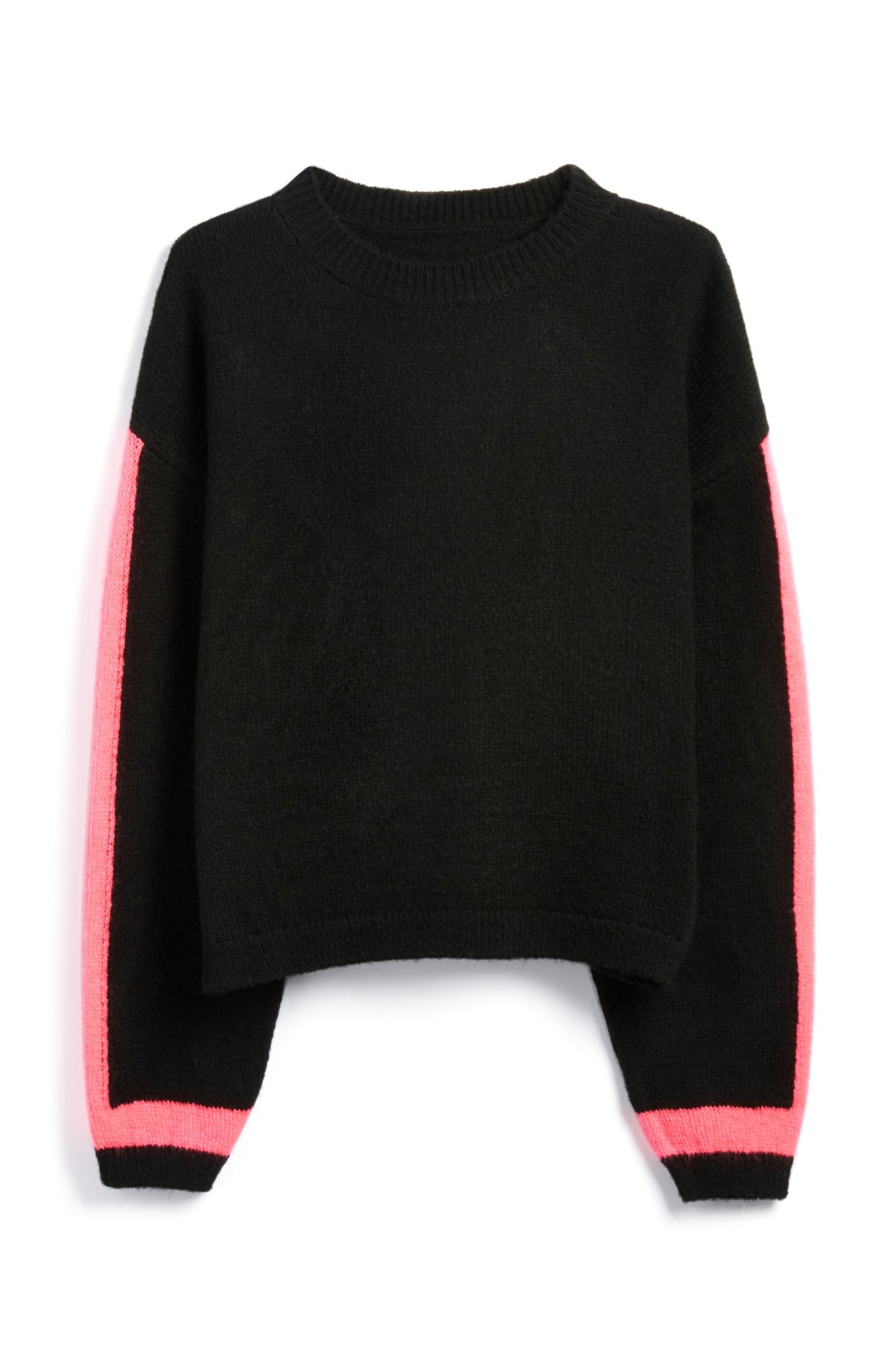 Neon Sleeve Jumper