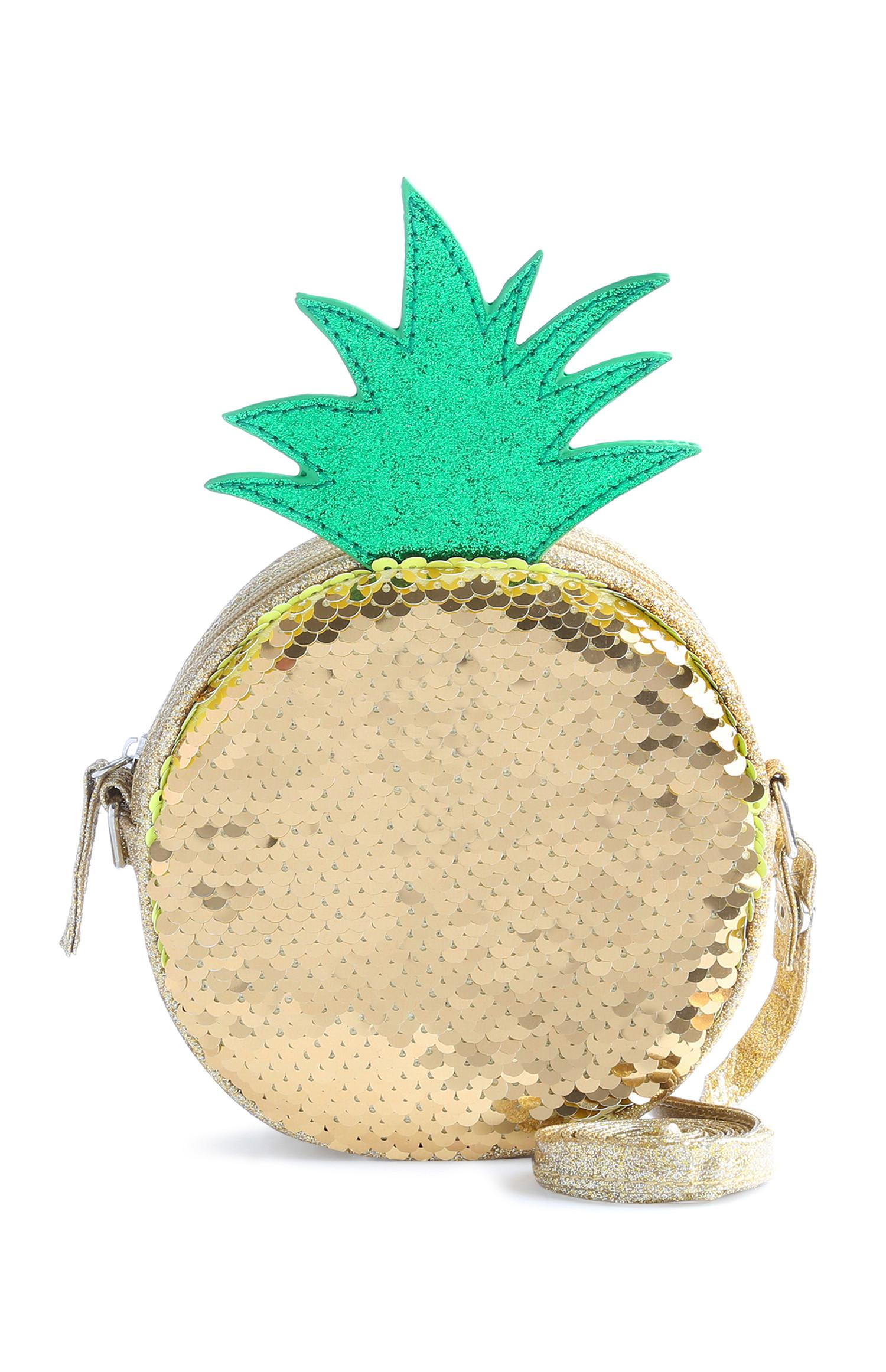Bolsa ananás para menina