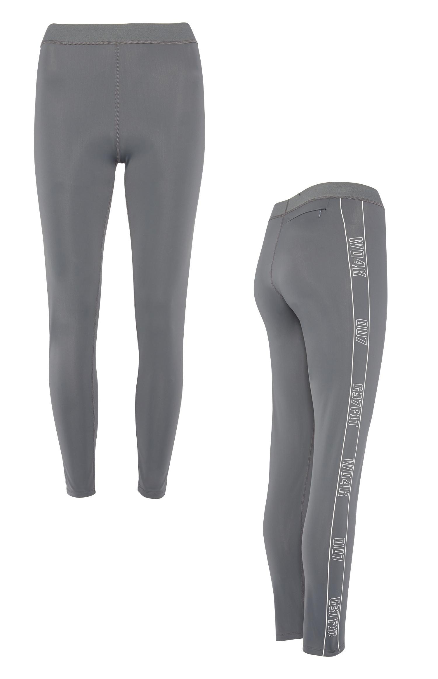 Grey Slogan Jogger