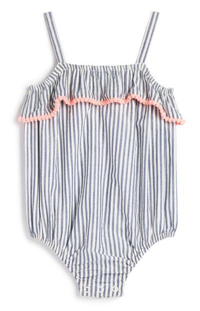 Baby Girl Stripe Romper