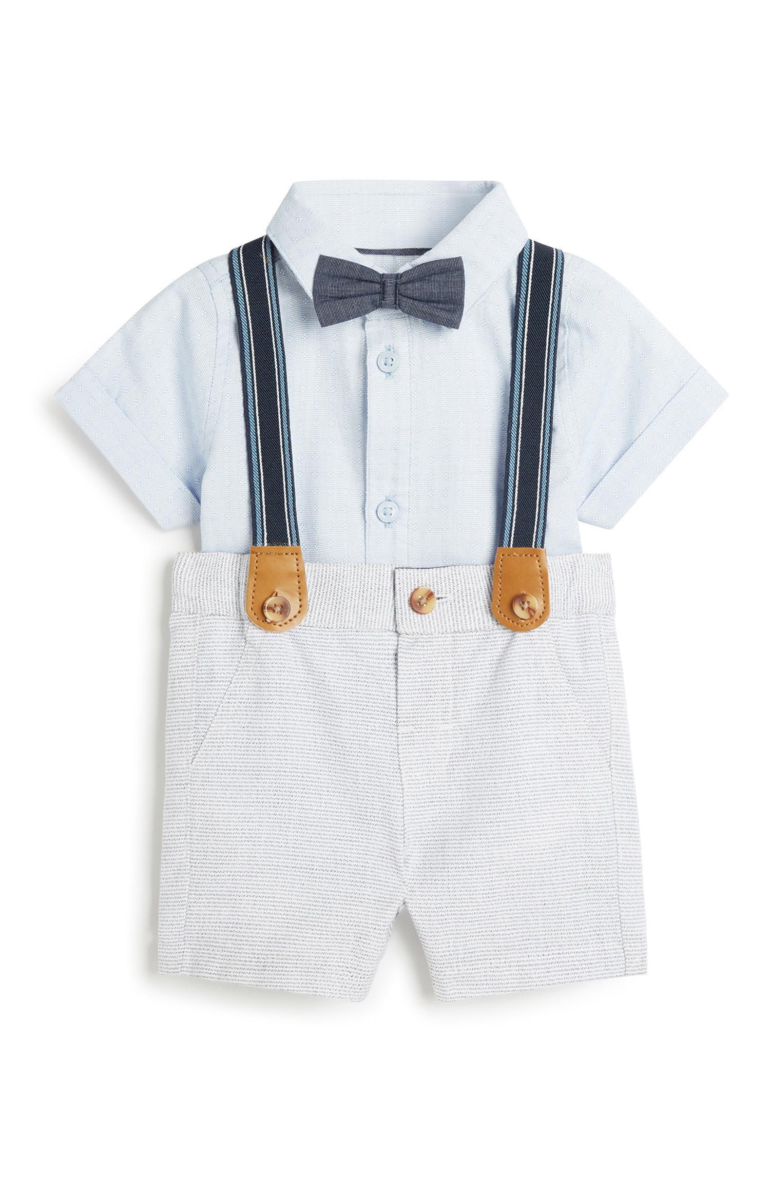 Conjunto formal 4 peças menino bebé