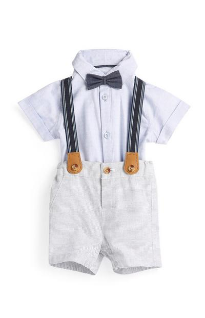 Newborn Boy 4Pc Outfit