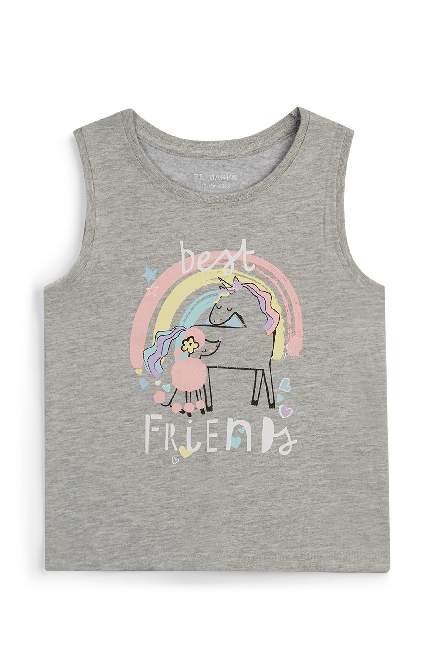 Baby Girl Unicorn Vest
