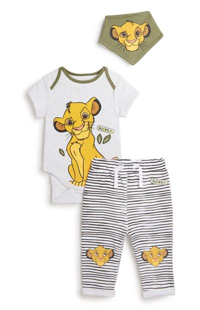 Lion King 3Pc Outfit Set